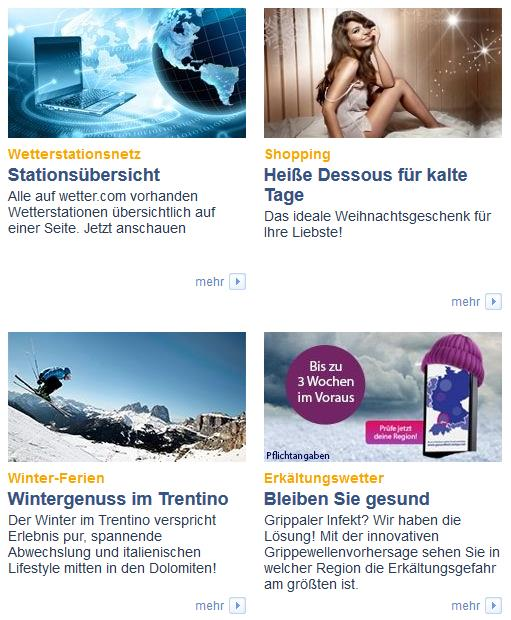 Content-Marketing bei wetter.com