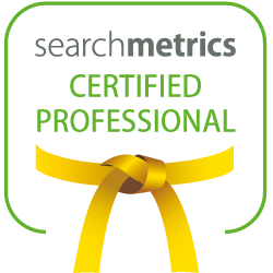 Logo Searchmetrics Yellow Belt