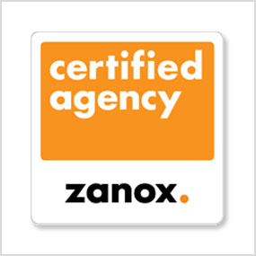 Logo Certified Agency Zanox